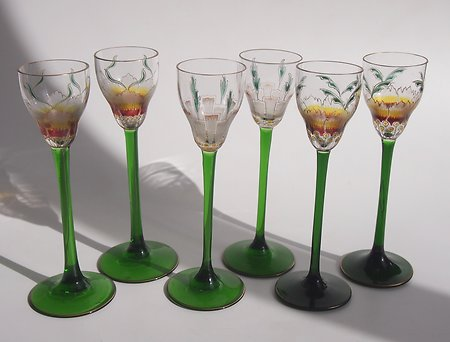 Pallme Koenig, Meyr's Neffe & Other Decorative Glass. Theresnthalglasses